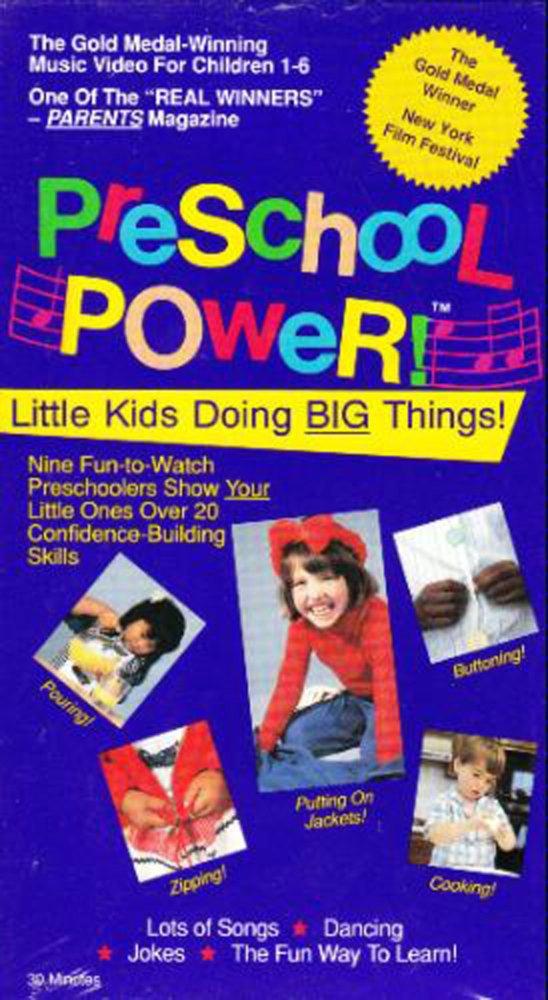 Preschool Power 6 Preschool Power Jacket Flips