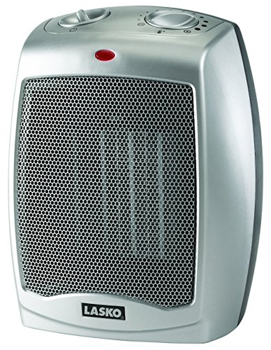 Lasko 754200 Ceramic Heater with Adjustable Thermostat (Radiant Heaters Electric compare prices)