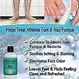 Antifungal Soap with Tea Tree Oil , Helps Treat Athletes Foot , Ringworm , Nail Fungus & Jock Itch 9oz
