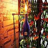 YTE Wine Bottle Tiki Torch Kit forGarden Lighting Christmas Halloween Party