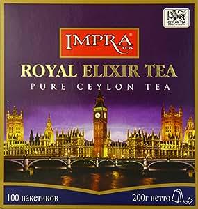 Impra Royal Elixir Tea, 100-Count Tea Bags (Pack of 6)