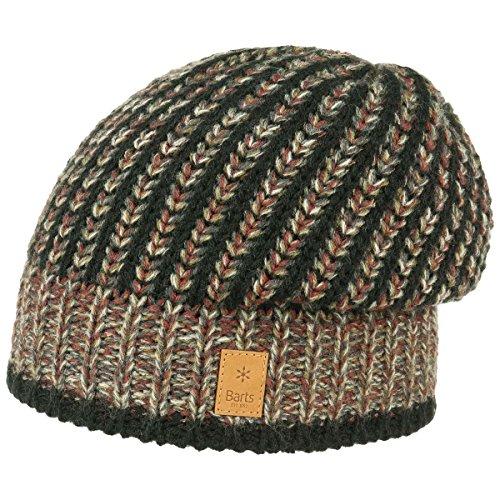 Mike Beanie Barts beanie berretti invernali a maglia Taglia unica - nero