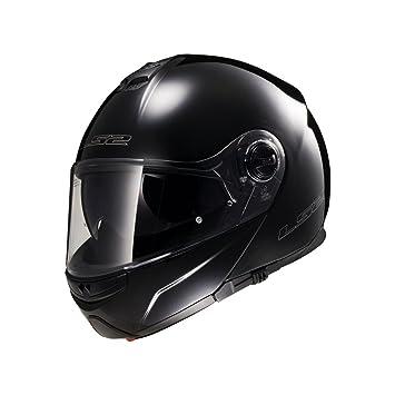 LS2 Helmets - Casque LS2 STROBE FF325 Brillant - Noir - M