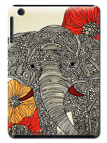 Cell Phone House Diy Painted-Elephant Patten Sleek Phone Case And Cases Cover Fit For Ipad Mini (Cut-Outs Elephant)