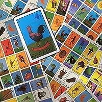 Mexican Lottery Bingo Set Autentica Loteria Mexicano Includes 10 Boards, 52 Card Deck, And Bingo Markers Colorful...