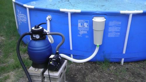 Hook up pool pump