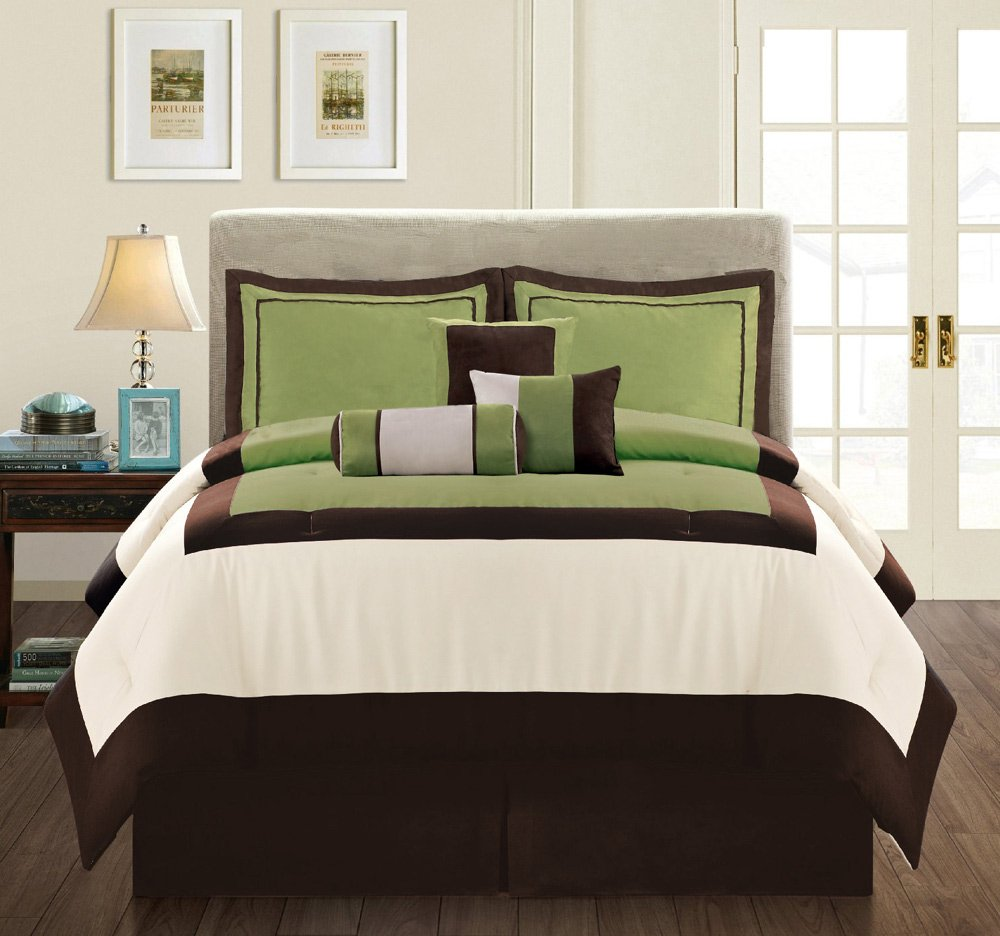 Green And Brown Bedding Fel7 Com