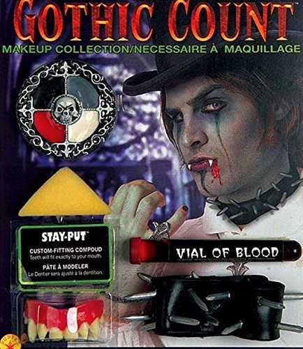 [Rubie's Costume Co Deluxe Gothic Count Make Up Costume] (Count Gothic Costumes)