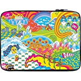 Snoogg Colourful Pattern 2496 10 To 10.6 Inch Laptop Netbook Notebook Slipcase Sleeve