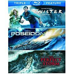 Twister / Poseidon / Perfect Storm (Triple-Feature) [Blu-ray]