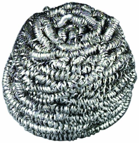 3M Scotch-Brite 84 Stainless Steel Scrubber, 1.75-Ounce