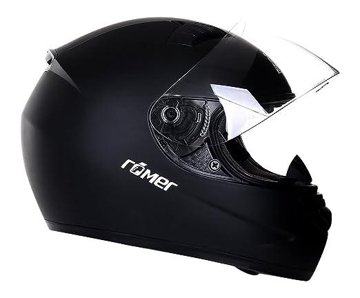 Römer Helmets 200402 Casque Intégral Frankfurt, Noir, Taille S