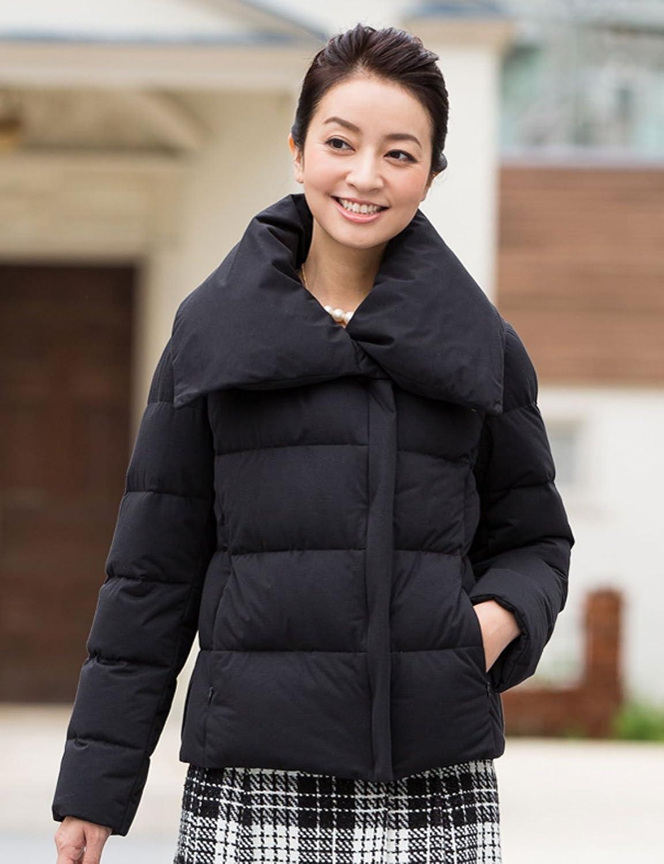 Amazon.co.jp: ダウンジャケット ダウンコートダウン90% ニット ジャージー ダウンジャケット コートカジュアルからビジネス(通勤)のレディース ダウン かわいい 大きいサイズ(9号11号13号): Amazonファッション通販