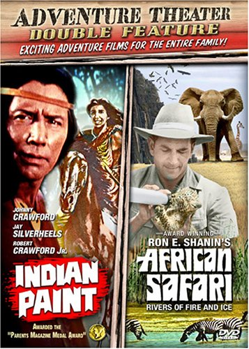 Adventure Theater - Double Feature: Indian Paint/African Safari (Indian Paint Dvd compare prices)