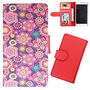DooDa - For Asus Zenfone 2 PU Leather Designer Fashionable Fancy Wallet Flip Case Cover Pouch With Card, ID & Cash Slots And Smooth Inner Velvet With Strong Magnetic Lock