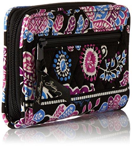 Vera Bradley Turn Lock Wallet, Alpine Floral, One Size