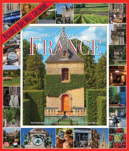 365 Days in France 2014 Wall Calendar