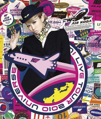Koda Kumi 倖田來未 – Koda Kumi LIVE TOUR 2010 ~UNIVERSE~