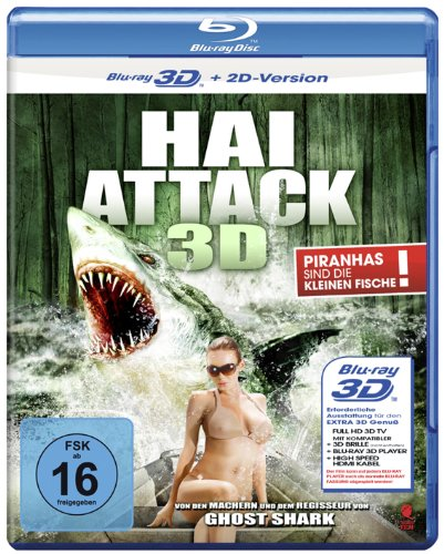 Hai Attack (Swamp Shark) [3D Blu-ray + 2D Version]