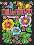 Floral Fantasies Stained Glass Colori...