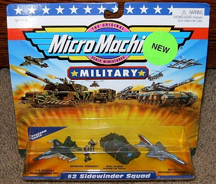 Micro Machines Sidewinder Squad #2 Military Collection