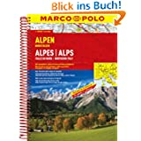 MARCO POLO Reiseatlas Alpen, Norditalien 1:300.000