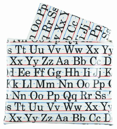 Sugarbooger Jumbo Floor Splat Mat, Vintage Alphabet front-192878