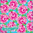 LP Inspired PINK CARNATIONS PATTERN Craft Vinyl 3 Sheets 12x12 for Vinyl Cutters