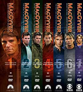 Macgyver: The Complete Series Pack Gift Set (Seasons 1-7)