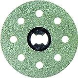 Dremel EZ545 1-1/2-Inch EZ Lock Diamond Wheel (Color: Silver, Tamaño: Pack of 1)