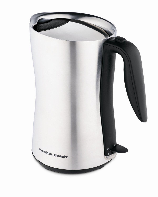 Hamilton Beach Electric Kettle ~ Stainless steel electric tea kettle fel