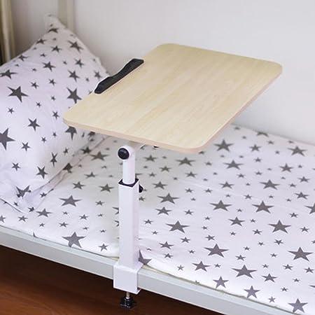 BBSLT Tavolo per PC portatile girevole elegante, letto con tavolino di pigrone, scrivania in camera da letto pieghevole , a