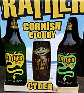 Healey's Cider Farm Rattler Cider & Glass Gift Set