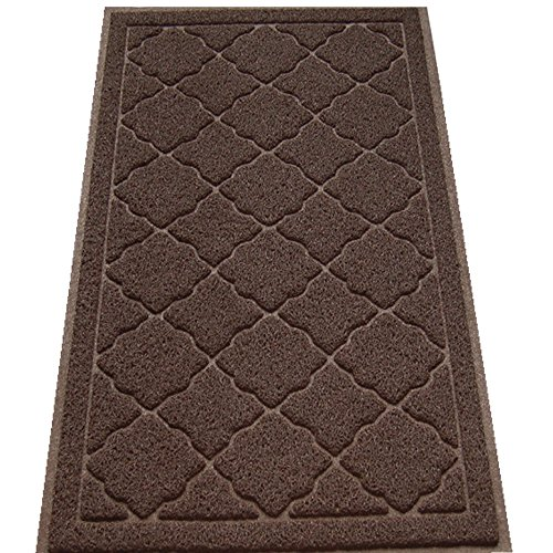 Easyology Premium Cat Litter Mat - XL Super Size - Extra Large Scatter Control Kitty Litter Mats for Cats Tracking Litter Out of Their Box - Soft on Paws- Elegant for Your Home- (Patent Pending) (Lotter Crystals compare prices)