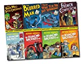 Anthony Horowitz The Diamond Brothers 8 Books Set Detective Agency Collection (French Confection, Blurred Man, I Know What You Did Last Wednesday, Greek Who Stole Christmas, Public Enemy Number Two, in South by South East, in The Falcon's Malteser, Two O