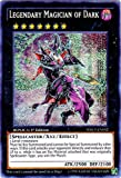 Yu-Gi-Oh! - Legendary Magician of Dark (WSUP-EN052) - World Superstars - 1st Edition - Prismatic Secret Rare