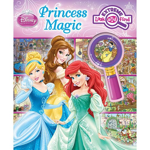 Extreme Look Find Princess Book front-1003279