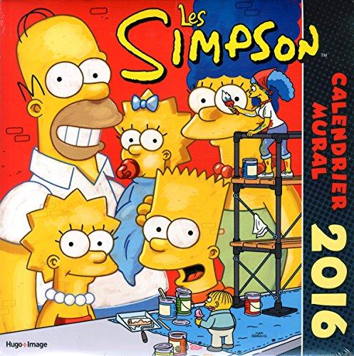 Calendrier mural 2016 Les Simpson