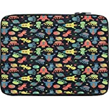 Snoogg Alien Gone Crazy 13 To 13.6 Inch Laptop Netbook Notebook Slipcase Sleeve