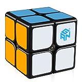 D-FantiX GAN 249 V2 M 2x2 Speed Cube Magnetic Gans 249 V2 M 2x2x2 Magic Cube Puzzle Black Core (Color: Black)