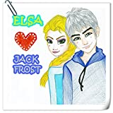 Frozen: ELSA & JACK FROST: Illustration Book (Frozen Fever 1)