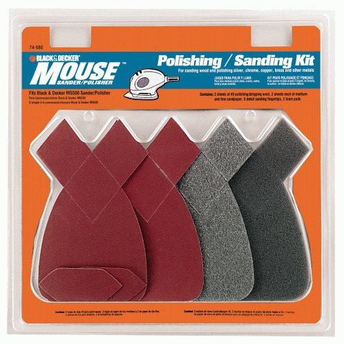 black and decker 74 580 mouse sanding polishing kit. Black Bedroom Furniture Sets. Home Design Ideas