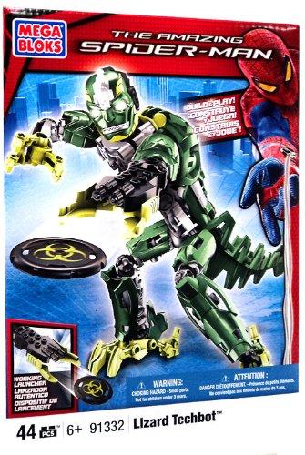 Mega Bloks Lizard Man Techbot - 1