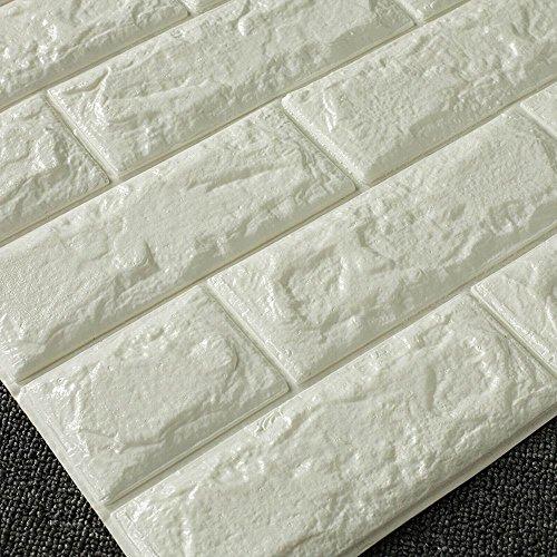 Carta da parati mattone l 39 effetto legno pietra a casa e for Carta da parati effetto pietra 3d
