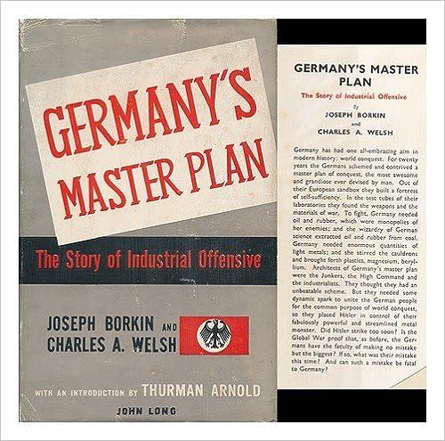 Germany's Master Plan