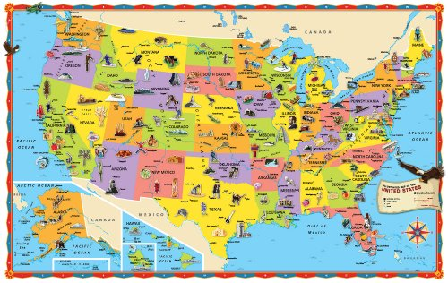 GeometryNet Basic U Books Us Maps