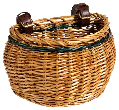 Nantucket Bike Basket CompanyMiacomet Collection Bike Basket (Honey, Child)
