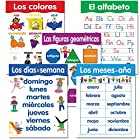 Creative Teaching Press Spanish Basic Skills, 5-Chart Pack (5792)