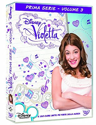 Violetta - Stagione 01 #03 (Eps 57-80) (8 Dvd) [Italian Edition]