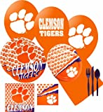 NCAA Clemson Tigers Large Party Pack at Amazon.com